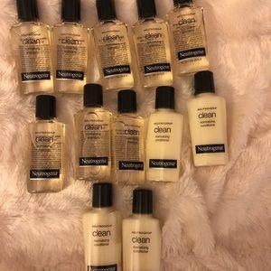 Neutrogena shampoos and conditioners bundle of 12